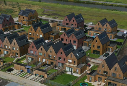 26 woningen Zomerdijk Ter Sluis Meerstad Groningen woningbouw
