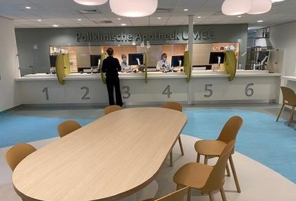 Poliklinische apotheek UMCG Groningen